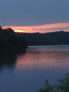 Salt Fork sunset 2013